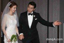 [화보]주상욱♥차예련, 꿀 떨어지는 결혼 기자회견