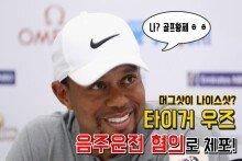 '골프 황제' 타이거 우즈, 음주운전 혐의로 체포