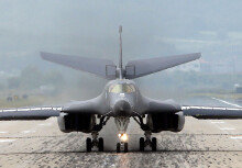 美 B-1B 전략폭격기, 한반도 전개