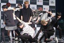 업텐션, 미니앨범 'STAR;DOM' 발매 쇼케이스
