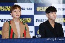[화보]'청년경찰' 박서준-강하늘, 이 조합 시원하군!