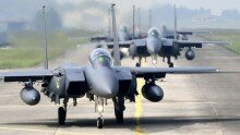 공군, F-15K, KF-16 전투기 참가 대규모 공중전투훈련 실시