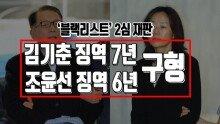 '블랙리스트' 2심 재판, 중형 구형