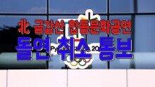 북 금강산 합동문화공연 취소 통보