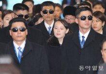 [화보]김여정, 철통 보안 속 평창 도착