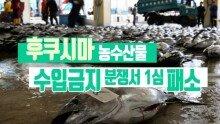 후쿠시마 농수산물 수입금지 분쟁서 1심 패소