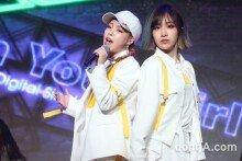 전민주X유나킴 뭉친 유닛 '칸' 데뷔 쇼케이스