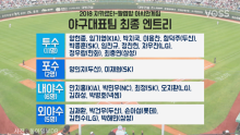 2018 아시안게임 야구 대표팀 최종 엔트리…오지환, 박해민 포함