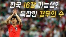 한국 16강 가능성? 복잡한 경우의 수