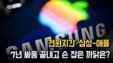 '견원지간' 삼성-애플 7년 싸움 끝내고 손 잡은 까닭은?