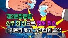 '제2윤창호법' 소주 한 잔으로 면허 취소...대리운전 웃고, 요식업계 울상
