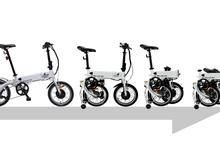 착착착 접어서 휴대하는 전기 자전거 지바이크 미니