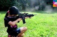 美, 하다하다 어린이 대상으로 총기 마케팅?