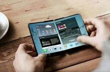 삼성전자, 휘어지고 접혀지는 '폴더블폰' 조만간 출시하나?