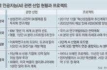 """""""한국 AI기술, 美에 2.2년 뒤처져… 中과 비슷"""""""