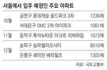 서울 연말까지 2만채 입주… 과열된 부동산시장 식힐까