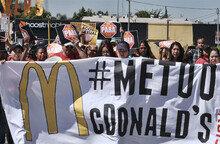 '미투 맥도널드' 성희롱 항의 파업