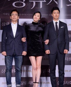 [DA:현장] 박해일X수애 '상류사회', 독특한 2등 부부의 '욕망 집합소' (종합)