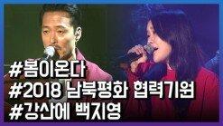 백지영 X 강산에 … '봄이 온다' 평양 공연