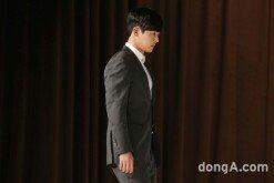 [화보]김현중, 4년만의 복귀.. 첫 공식석상