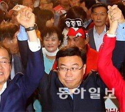 """홍준표 """"정권 나팔수 언론 거부운동"""""""