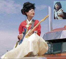[단독]엄마의 나라 한국이 좋아… 가채에 한복입고 노래하는 그녀