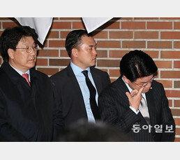 """장제원 """"눈물이 자꾸 흘러…결코 잊지 않겠다"""""""
