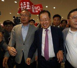 """홍준표 """"좌파들 위선·거짓으로 나라 끌지만 오래 못가"""""""