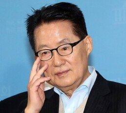 """박지원 """"文대통령 지지율 하락, '이영자' 현상 때문"""""""