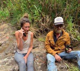 """美여성, 하와이서 실종 17일만에 구조…""""벌레 먹으며 버텨"""""""