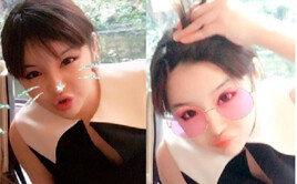 박봄, 미모 갱신 中