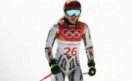 스노보드 선수가 스키서 금메달