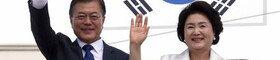 예측불허 '트럼프 악수', 文대통령 대응법 보니