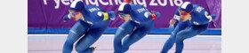 [속보] 빙속 男 팀추월 2회 연속 은메달
