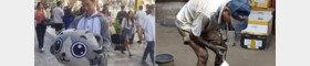 '1100도' 열기에도…폭염과 싸우는 '극한 노동자'들