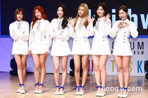 라붐, 'MISS THIS KISS'  쇼케이스… '휘파람 소녀'