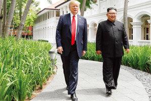 치고 빠진 김정은 능수능란했던 트럼프