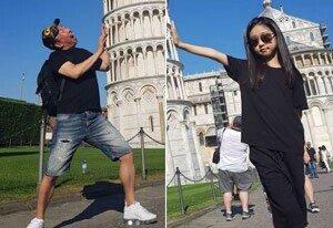 '박명수♥' 한수민, 딸 민서 첫 공개…모델 포스
