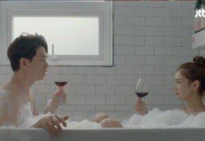 정상훈, 이태임과 욕조서 목욕신에 '헉'