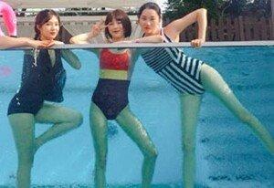 수영복 입은 조이X장윤주X김수미