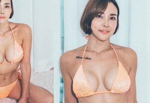쇼핑몰 CEO의 위엄, 파격 비키니 '섹시 폭발'