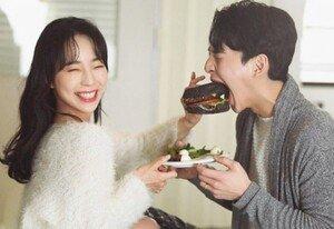 밴쯔 먹방 웨딩화보…미모 예비신부♥ 공개