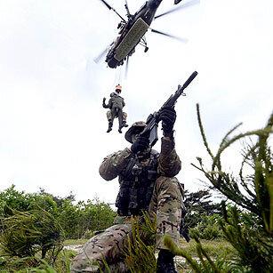'조종사 구출' 공군 항공구조사