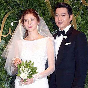 주상욱♥차예련, '꿀' 결혼 기자회견