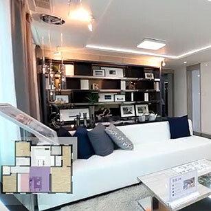 공간 활용이 탁월한 고급 주택