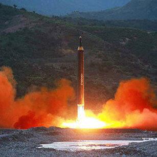 북한의 거듭되는 미사일 발사