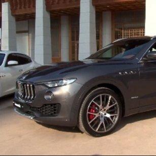 마세라티 2018 년식 SUV 모델 르반떼(Levante)