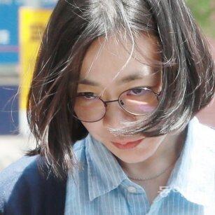 """포토라인 선 조현아, """"물의 일으켜 죄송"""""""