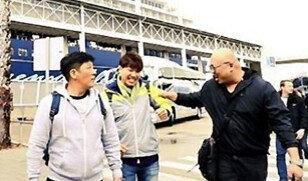 박수홍, 스페인 '이비자섬' 도착