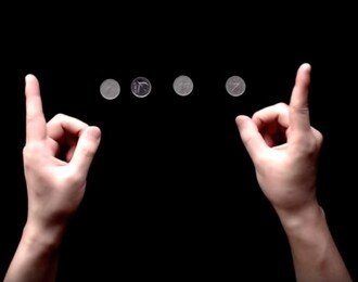 [마술배우기] 핑거 베니싱 - 손가락 없애는 마술